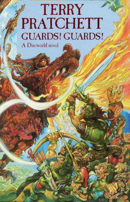 Cover of Terry Pratchett's 'Guards! Guards!'