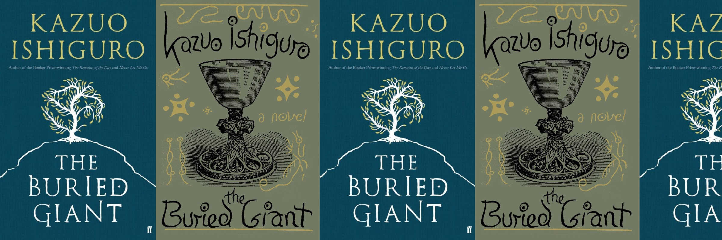 Book covers of the Buried Giant