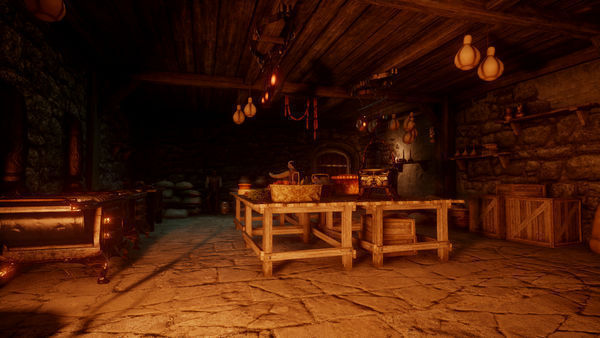 Kitchen at Skyhold
