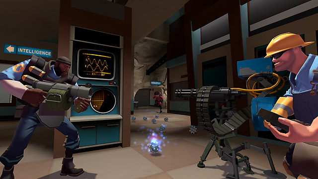 Screenshot from Team Fortress 2.