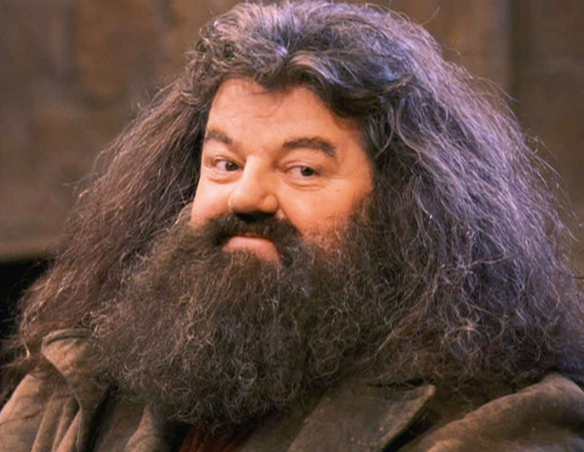 A happy Hagrid