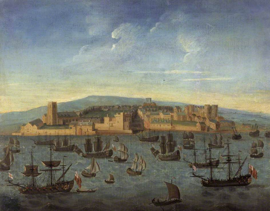 Earliest painting of Liverpool, 1680, Supplied by the Public Catalogue Foundation