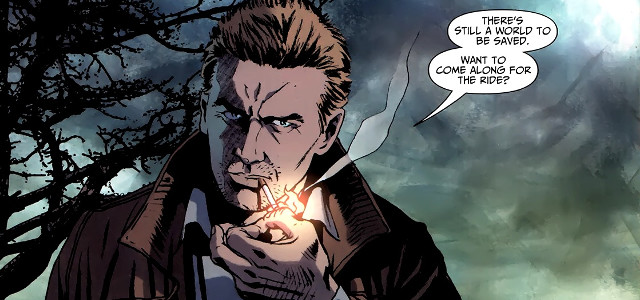John Constantine, ready to save the world.