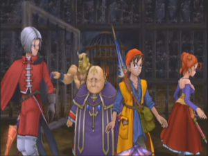 Purgatory Island prison, Dragon Quest