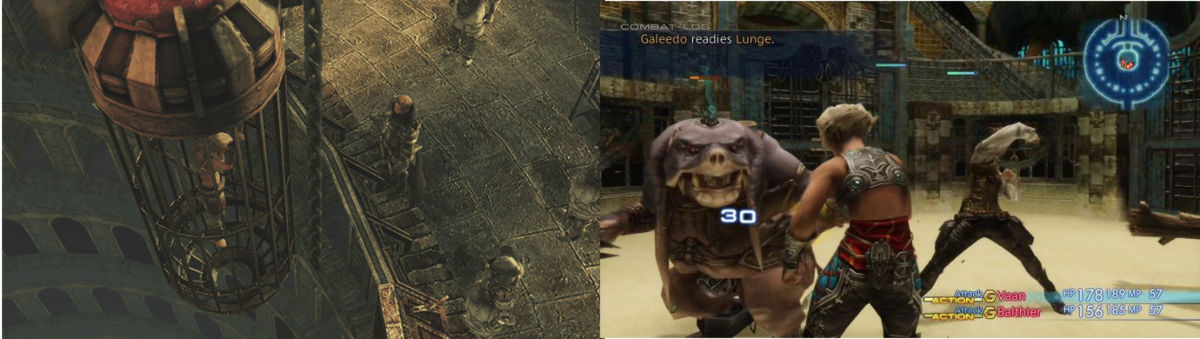 Images from Nalbina Dungeon, FFXII