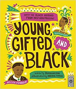 Book cover of Young, Gifted and Black