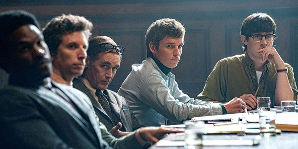 Photo of the trial defendants from the film
